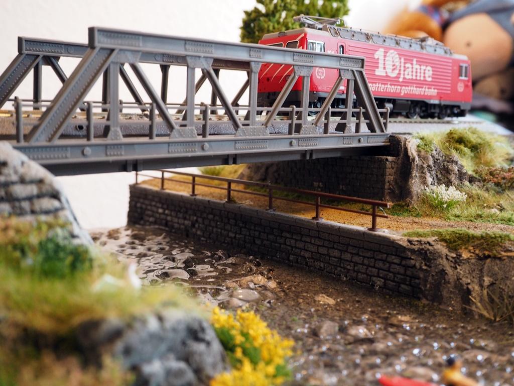 Brucke Und Fluss Sven S Modellbahn Seiten